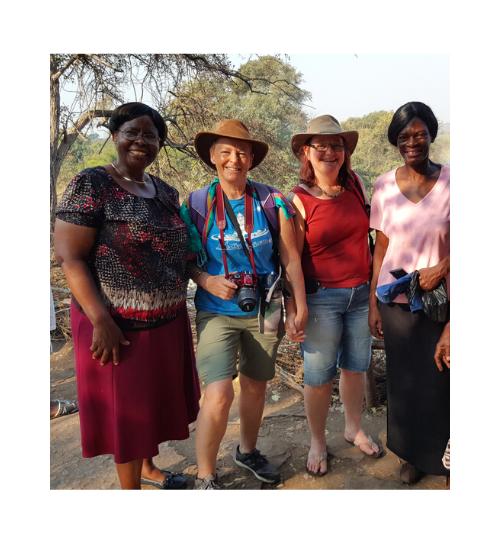 Zimbawean locals